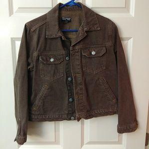 Polo Jeans Co Brown Denim Jacket
